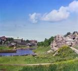 Вид на Старую Ладогу