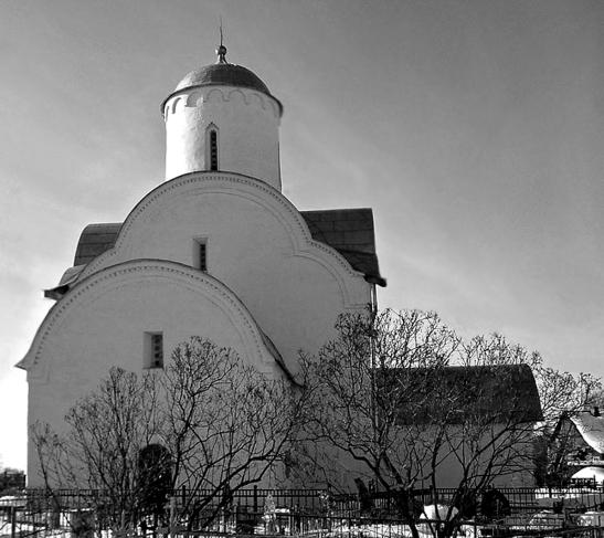 Церковь Успения на Волотовом поле после восстановления
