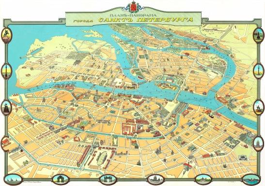 plan SPb 1913