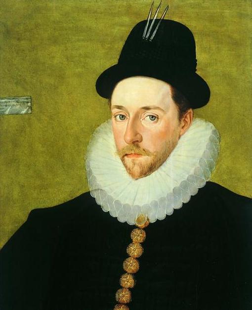 Перегрин Берти, 13-й барон Уиллоуби де Эресби. Портрет работы Роберта Пика. Старшего. Ок 1588-90.