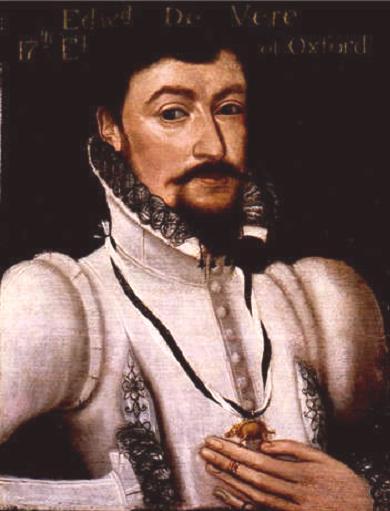 Эдуард де Вер, 17-й граф Оксфорд. Портрет работы Маркуса Герардса-младшего