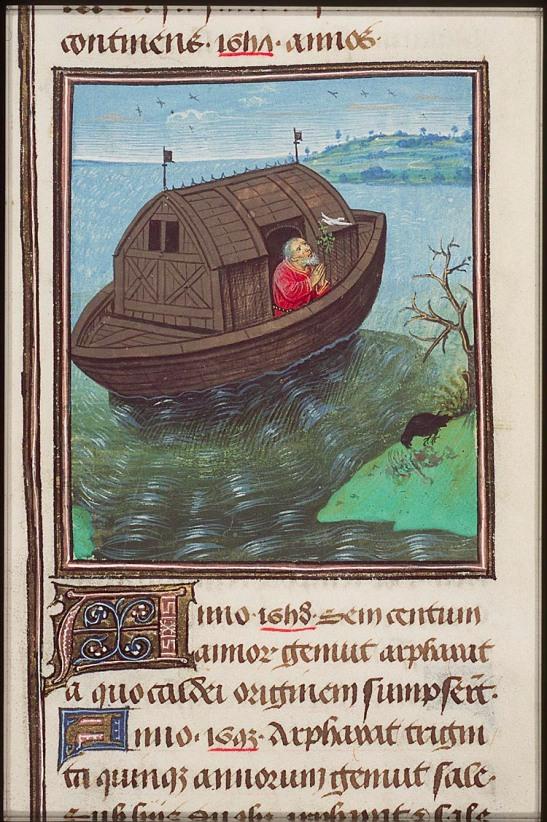 Ной. Южные Нидерланды. 1450–1460