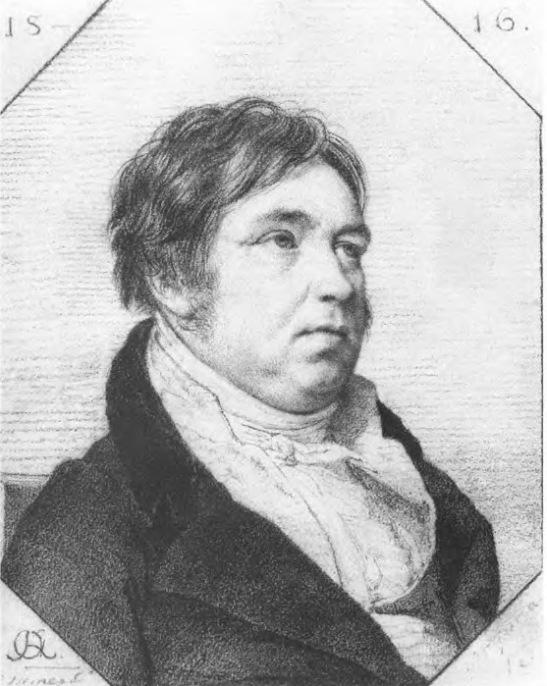 И.А.Крылов. Рисунок О.А.Кипренского. 1816