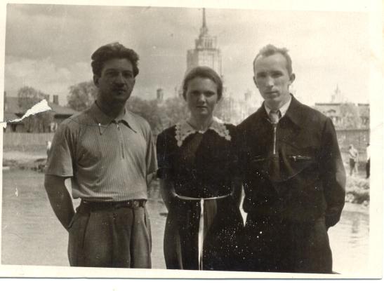 отец и мама июнь 1955