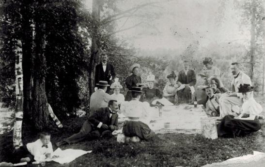 На пикнике в парке