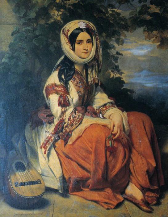 А. О. Смирнова, Художник Франц-Ксавер Винтерхальтер. 1837