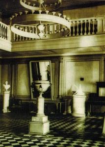 Зала в Рождественской усадьбе. Фото 1910 г.