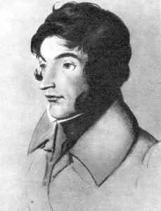 Адам Мицкевич. Художник И. Шмеллер. 1829