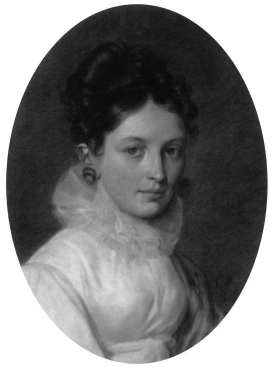 Екатерина Бакунина/ Автопортрет/ 1816