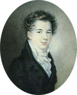 Князь АМ Горчаков Портрет кисти Ф Берне1817