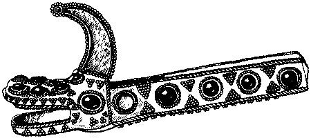 Авары Украшение кочевников VI–VII вв
