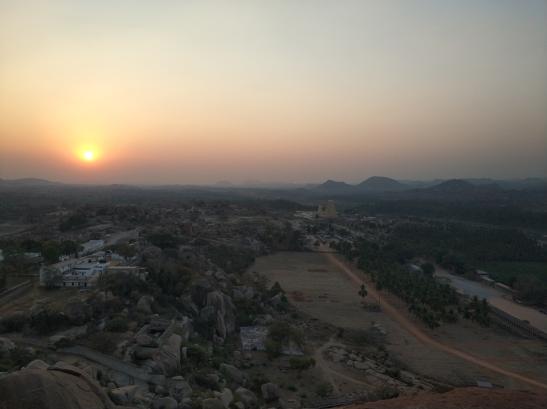 Вид на Виджаянагар